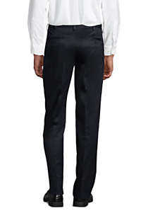 Men's Traditional Fit No Iron Twill Dress Pants, Back