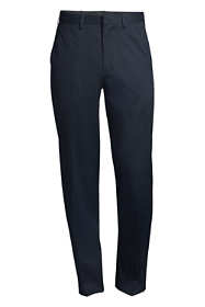 Men's Big & Tall Comfort Waist No Iron Twill Dress Trousers