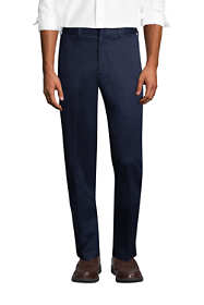 Men's Comfort Waist No Iron Twill Dress Pants