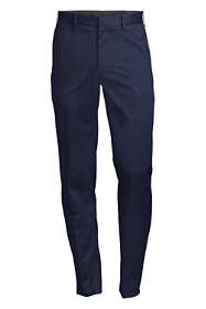 Men's Tailored Fit No Iron Twill Dress Pants