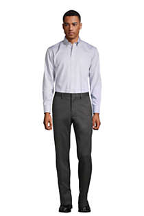 Men's Tailored Fit No Iron Twill Dress Pants, alternative image