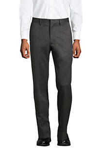 Men's Tailored Fit No Iron Twill Dress Pants, Front