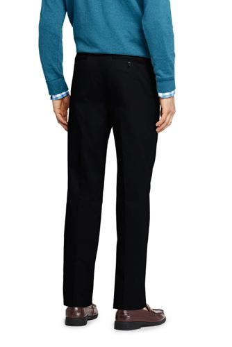 Men's Tailored Fit Pleated No Iron Twill Dress Pants