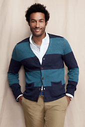 Men's Cotton Linen Cardigan