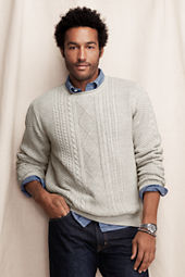 Men's Fisherman Crewneck Sweater