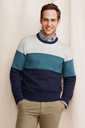 Men's Bold Stripe Crewneck Sweater