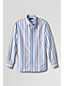 Men's Regular Long Sleeve Patterned Sail Rigger Oxford Shirt Traditional Fit