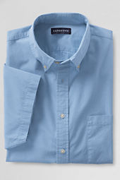Men's Short Sleeve Solid Shirt
