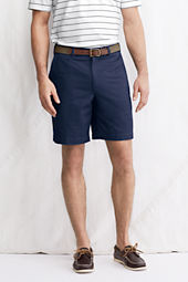 "Men's 9"" Plain Front Original Chino Shorts"