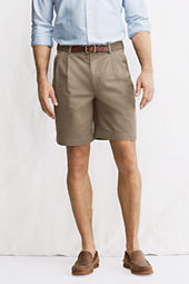 "Men's 9"" Pleat Front Original Chino Shorts"