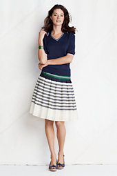 Women's Crepe Pleated Skirt