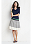 Women's Regular Crepe Pleated Skirt