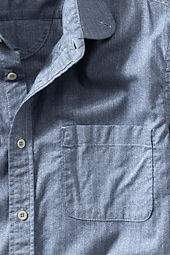 Men's Herringbone Club Collar Shirt