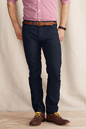 Men's 5-Pocket 608 Slim Canvas Indigo Pants