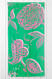 Adult Big Floral Beach Towel