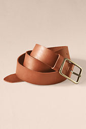 Women's Leather Chino Belt