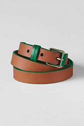 Women's Pop Leather Chino Belt