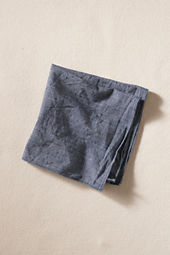 Men's Chambray Pocket Square