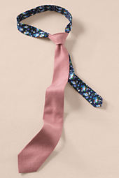 Men's Linen Check Tie
