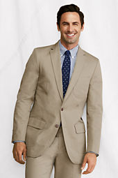Men's Tailored Fit Supima Cotton Twill Sportcoat