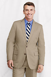 Men's Traditional Fit Supima Cotton Twill Sportcoat