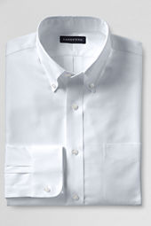 Men's Traditional Fit Pinpoint Buttondown Shirt
