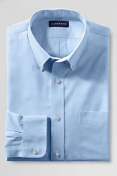 Men's Traditional Fit 40's Solid End-on-End Buttondown Dress Shirt