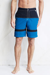 "Men's 9"" Horizontal Stripe Board Shorts"