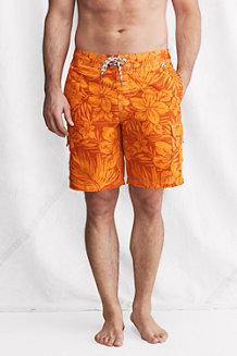 Men's Floral Cargo Board Shorts