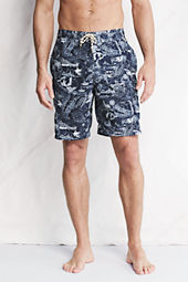 "Men's 9"" Print Cargo Board Shorts"