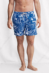 "Men's 6"" Pattern Volley Swim Shorts"