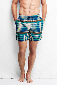 Men's Patterned 6˝ Swim Shorts