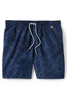 Men's 6-inch Patterned Swim Shorts