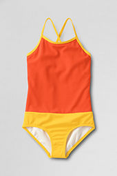 Girls' Sand Candy Colorblock One Piece Swimsuit