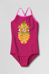 Girls' Sand Candy Graphic One Piece Swimsuit