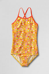 Girls' Sand Candy Mini Strap One Piece Swimsuit