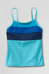 Girls' Smart Swim Colorblock Tankini Top