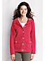 Women's Regular Loopback Jersey Hooded Jacket