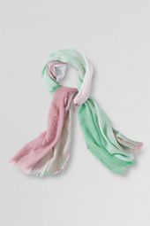 Girls' Colorblock Scarf