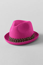 Girls' Colored Fedora Hat