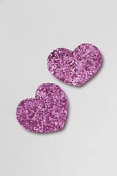 Girls' Glitter Hair Clips (2-pack)