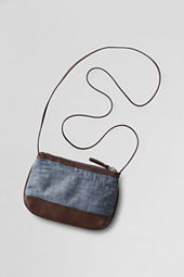 Girls' Zip Crossbody Bag