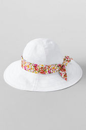 Girls' Fabric Floppy Hat