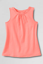 Girls' Solid Twisted Tank Top