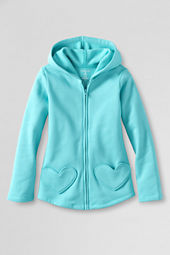 Girls' Heart Pocket Hoodie