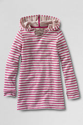 Girls' French Terry Hooded Tunic