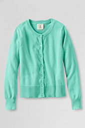 Girls' Long Sleeve Solid Sophie Cardigan