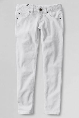Little Girls' 5-Pocket Coloured Slim Pencil Leg Jeans