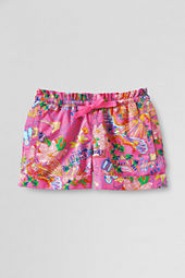 Girls' Pattern Twill Pull-on Shorts