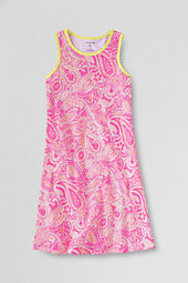 Girls' Knit A-line Tank Dress